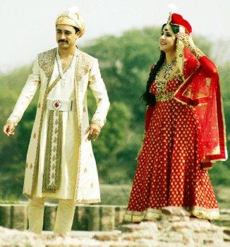 Katrina_Kaif_and_Imran_Khan_shoot_for_Mere_Brother_Ki_Dulhan_at_Agra__28229