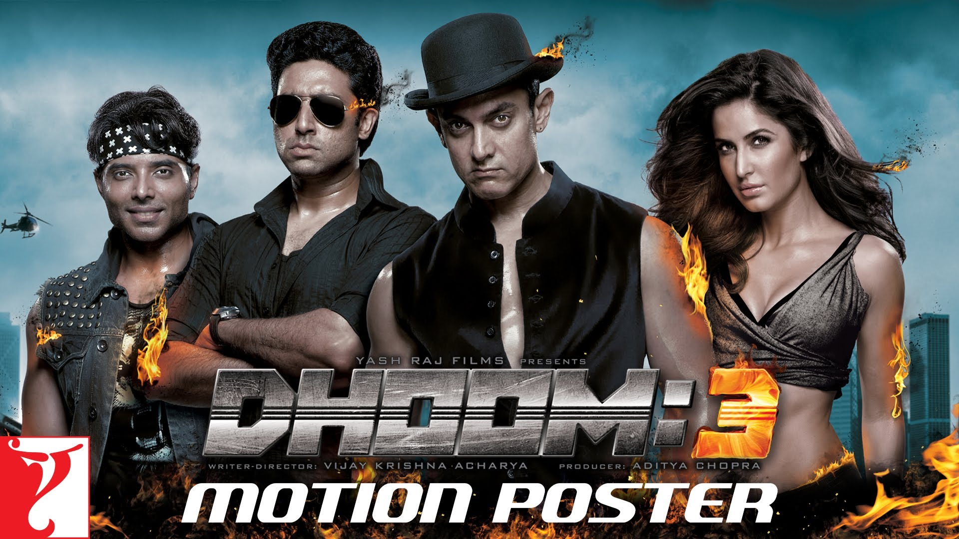 Hindi..|… Dhoom:3 Motion Poster – Everything
